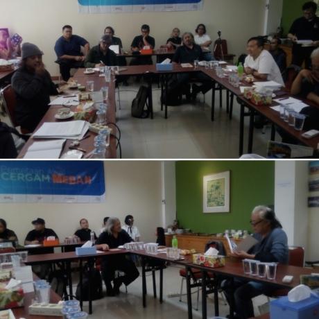 MENGUMPULKAN TANPA KLAIM DULU,  Focus Group Discussion (FGD) Pemetaan Awal Cergam Medan